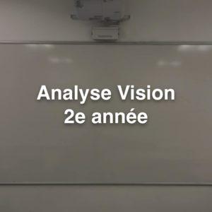 Cours BTS OL Analyse Vision 2e année