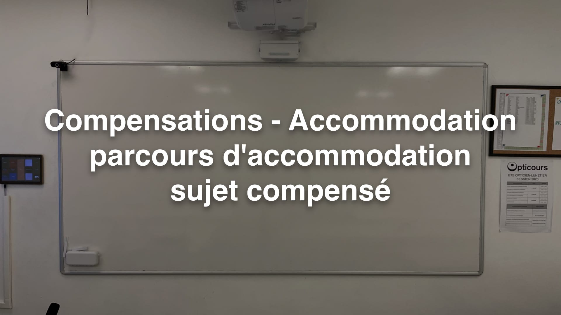 Cours BTS OL Accommodation